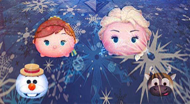 アナと雪のツムでタイムボム